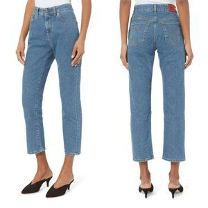 Fiorucci Salt & Pepper Yves Cropped Jeans Size 25